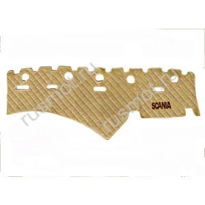 Коврик на торпедо с вышивкой  для SCANIA от 2009