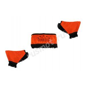 Ламбрекены для IVECO оранжевые