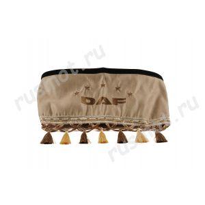 Шторы для DAF коричневые