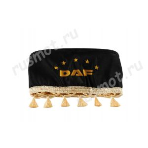 Шторы для DAF черные