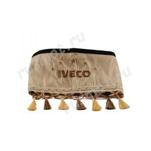 Шторы для IVECO коричневые