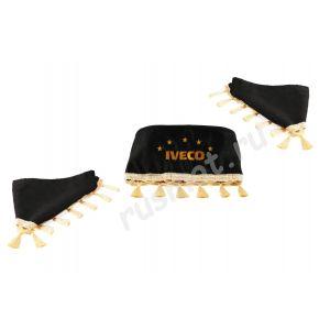 Ламбрекены для IVECO черные
