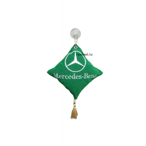 Вымпел подушка  MERCEDES зеленый