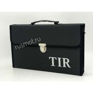 Папка для водителей черная с логотипом TIR
