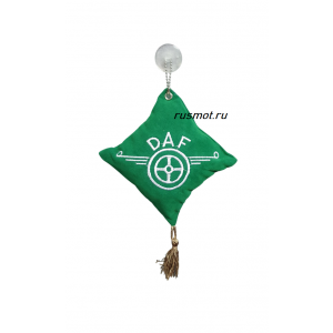 Вымпел подушка  DAF зеленый