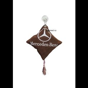 Вымпел подушка MERCEDES коричневый