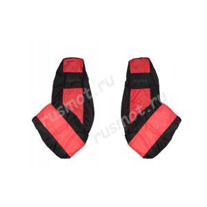 Чехлы Эконом для DAF XF105 CF IV LF красные