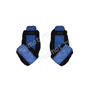 Чехлы Эконом для MERCEDES Axor MP3 1840 синие