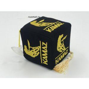 Вымпел кубик  KAMAZ черный