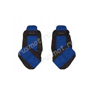 Чехлы Жаккард для MERCEDES Axor MP3 1840 синие