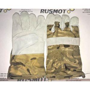 Перчатки рабочие кожа  Польша военные