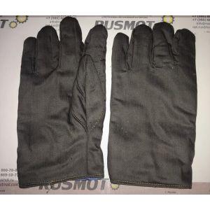 Перчатки рабочие кожа  Польша утепленные