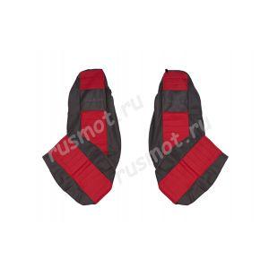 Чехлы Жаккард для DAF XF105 CF IV LF красные