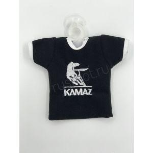 Вымпел майка KAMAZ черный