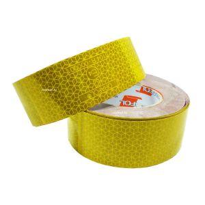 Лента светоотражающая Orafol ( reflexite) 50м желтая