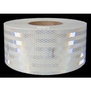 Лента светоотражающая алмазная 50м белая