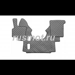 Коврик из искусственной  кожи DAF XF 95 механика серый (Польша)