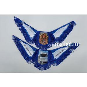 Вымпел тройной крылья MERCEDES синий