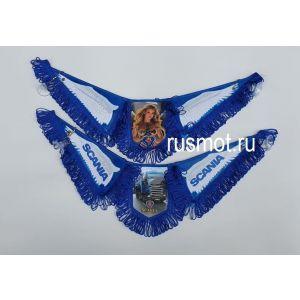 Вымпел тройной крылья SCANIA синий