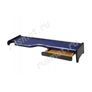 Полка с ящиком для MAN TGA с широкой кабиной синяя