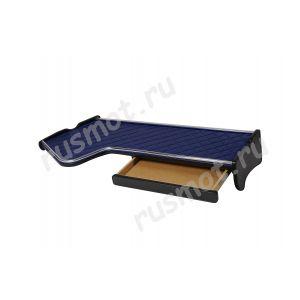 Полка с ящиком для RENAULT MAGNUM синяя