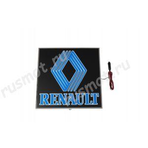 Светодиодная табличка в спальник 24V RENAULT 48x48