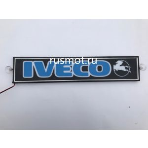 Светодиодная табличка 24V 50x10 Iveco цветная