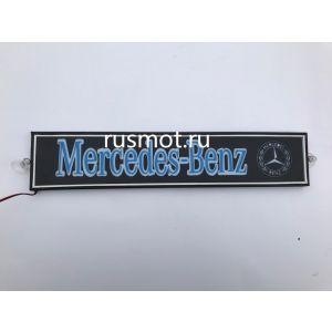 Светодиодная табличка 24V 50x10 Mercedes цветная